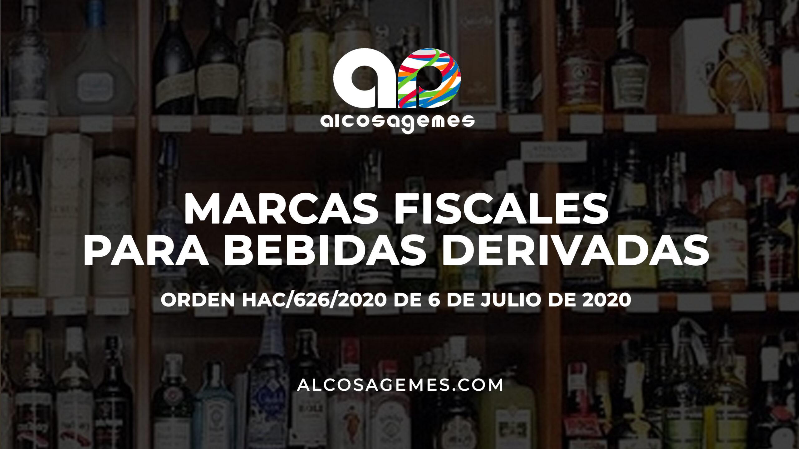 Marcas fiscales para bebidas derivadas